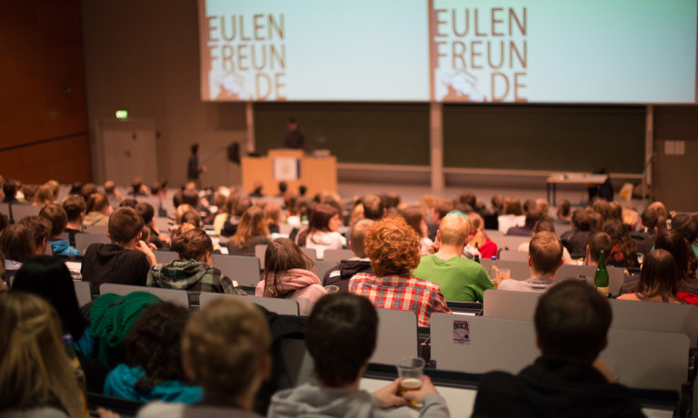 Eulenfreunde Science Slam 2013